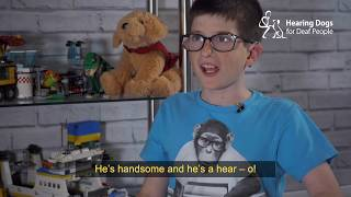 Zach and hearing dog Echo's amazing story