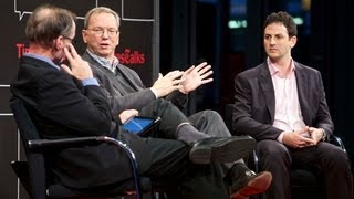 Eric Schmidt & Jared Cohen | Interview | TimesTalks
