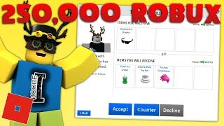 BIG TRADES! 250,000 ROBUX ITEM! | Roblox Trading