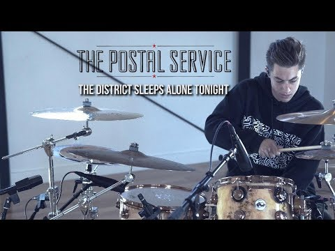 Luke Holland - The Postal Service - 'The District Sleeps Alone Tonight' Drum Remix