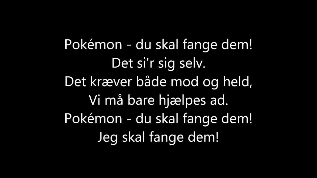rap tekst på dansk
