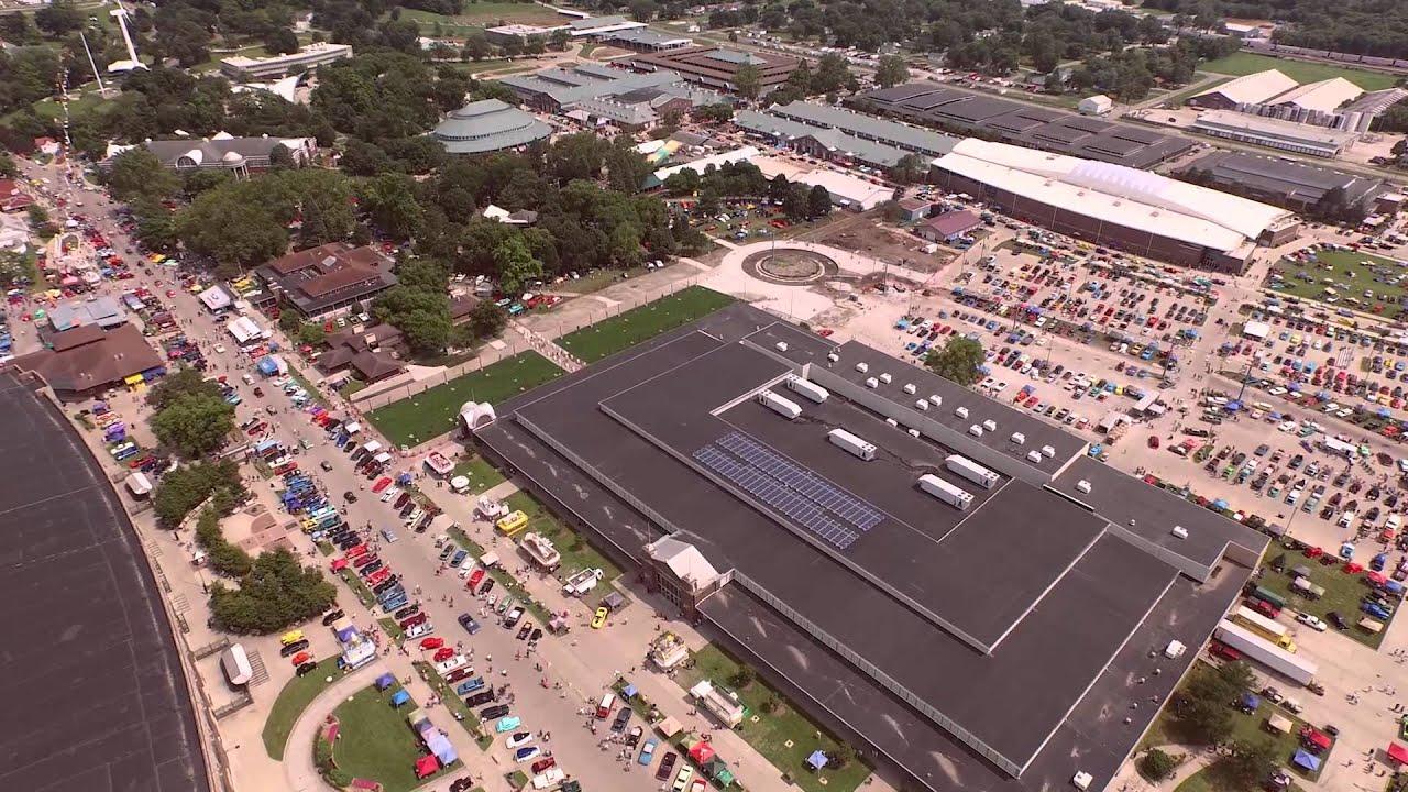 Goodguys Heartland Nationals Des Moines Iowa Aerial - Good guys car show iowa