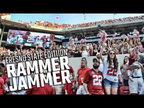 Alabama fans sing Rammer Jammer after Tide beats Fresno State