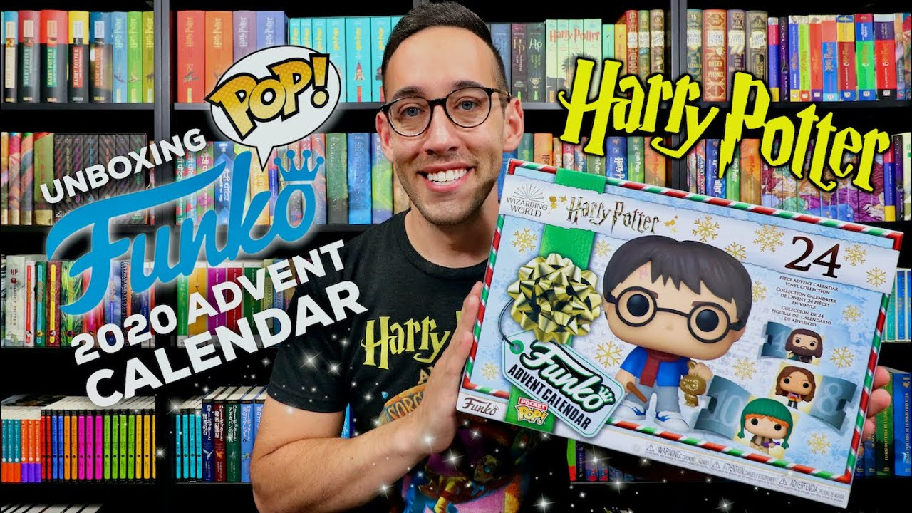 2020 Harry Potter Funko Pop Advent Calendar Unboxing   YouTube