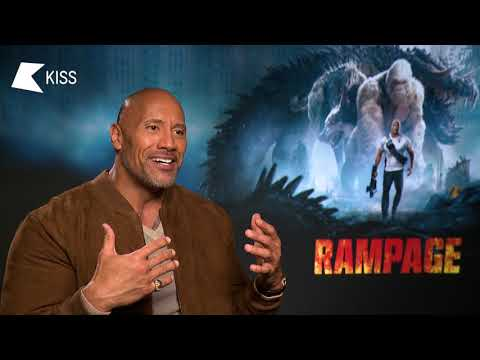 Dwayne Johnson talks WWE Fighting Conor McGregor and New Movie Rampage  Tom On KISS