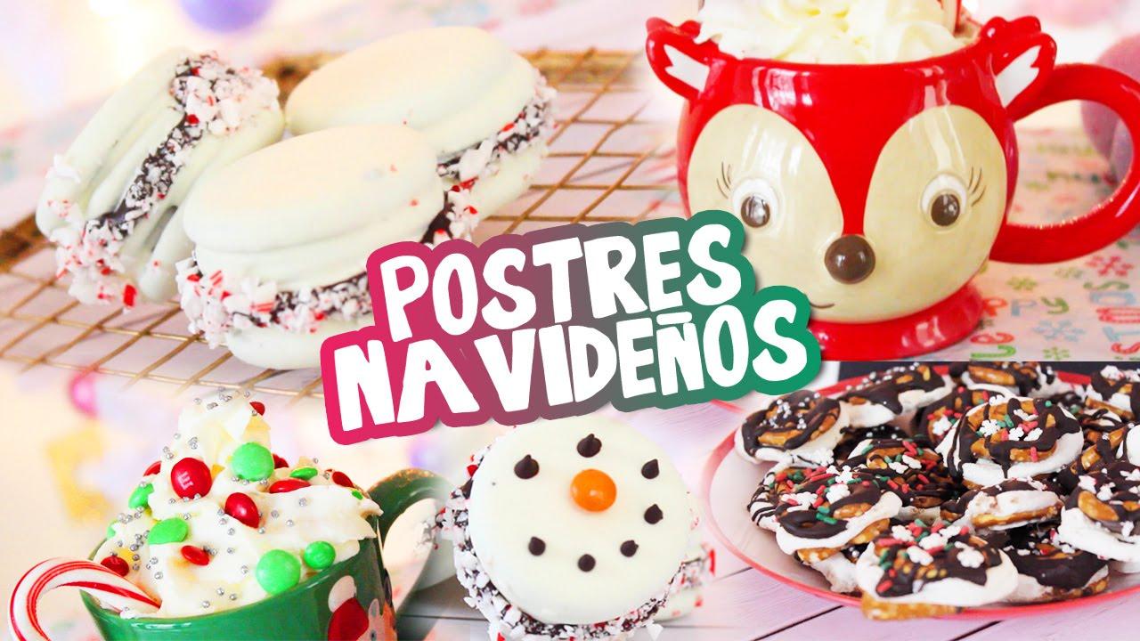 Facil Postres Navidenos Youtube - Postres-navideos