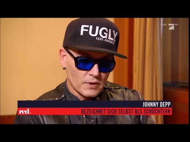 Johnny Depp Interview in Berlin