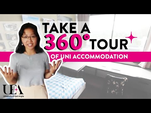 Standard Single Ziggurat 360° Student Accommodation Tour  | University of East Anglia (UEA)