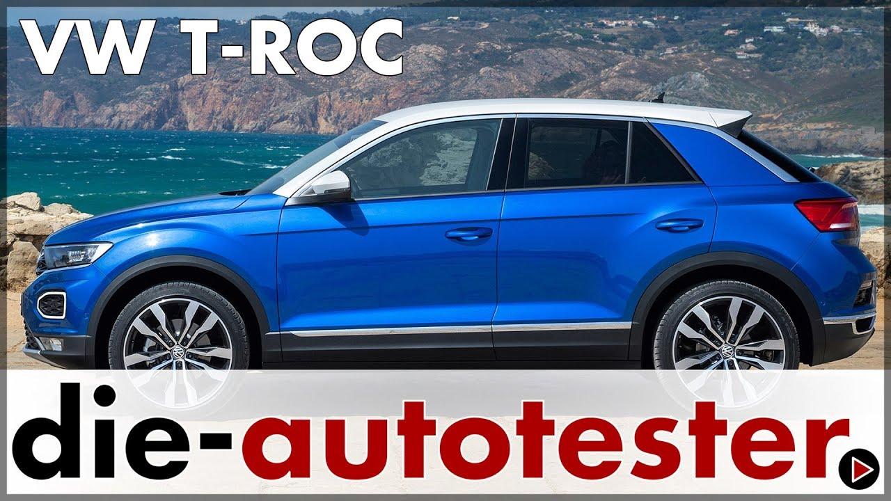 Volkswagen Vw T Roc 20 Tsi 2017 Fahrbericht Zum Neuen Vw Suv