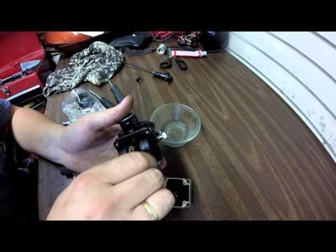 Замена эмульсионной трубки и распылителя Dellorto PHBG (Yamaha BWS)