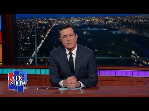 What Were People Saying About Colbert in          Vulture Stephen Colbert on RNC Comeback Character and More   Hollywood Reporter