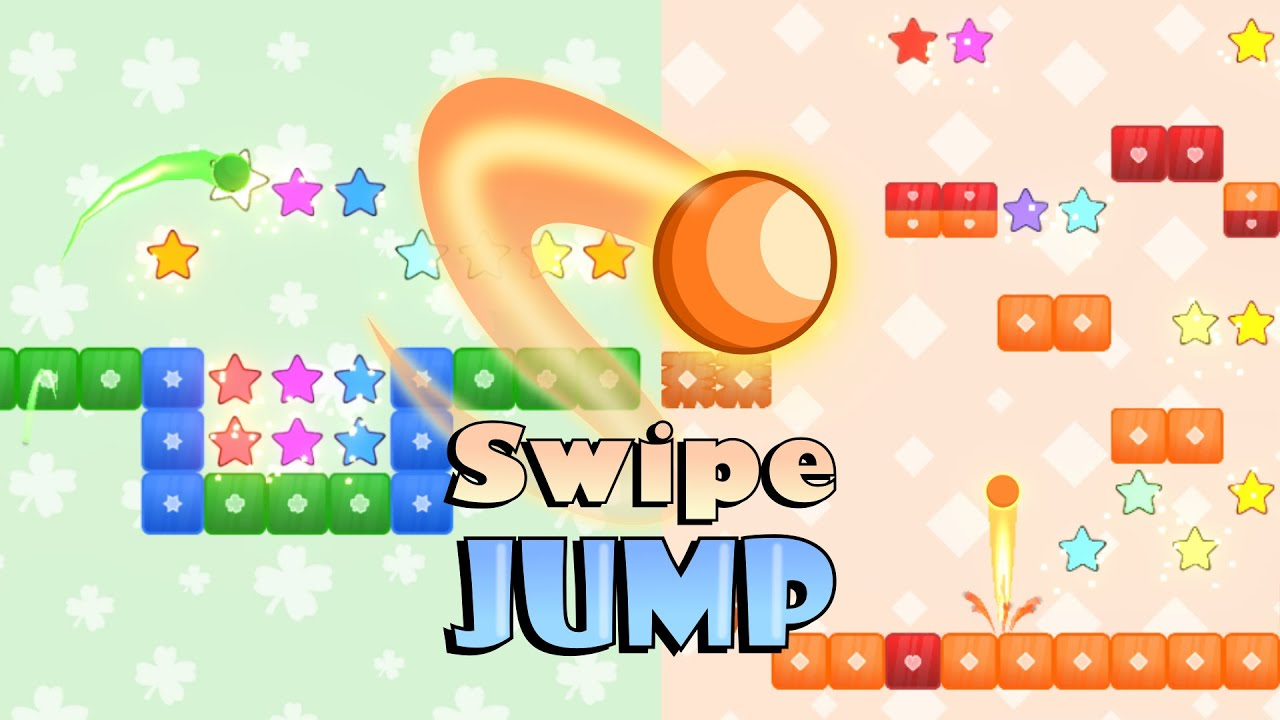 Swipe Jump 2D
