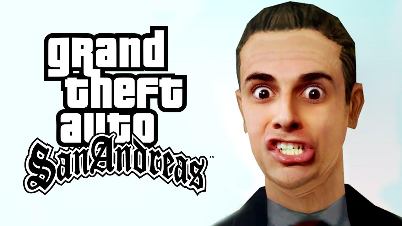 GTA San Andreas #22 - Ryder FUGIU de Barco!