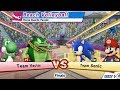 Mario & Sonic At London 2012 Olympic Games Beach Volleyball Part 28 Gameplay