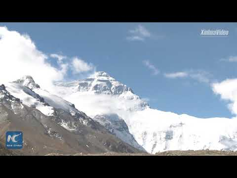 Time-lapse video: Day and night in Tibet Autonomous Region,