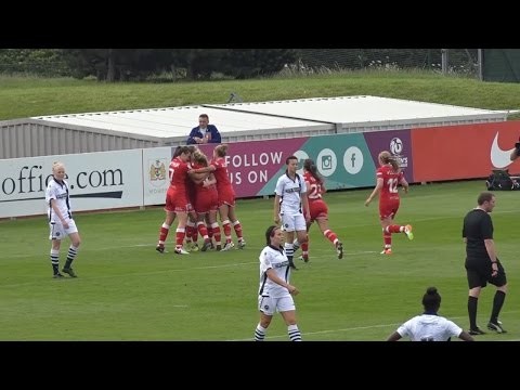 Goals: Bristol City Women 2-1 Millwall Lionesses