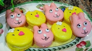 Bunnies & Chicks French Macarons - RECIPE Tutorial Thumbnail
