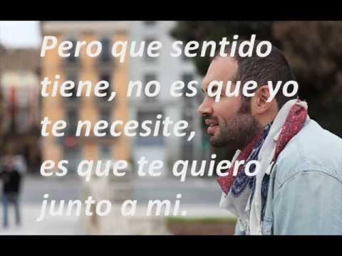 Ver Video de Santiago Cruz No te necesito - Santiago Cruz (Letra-Lyrics)