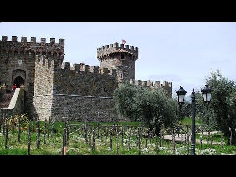 Napa Valley Castle Tour - Castello Di Amorosa - Calistoga, California