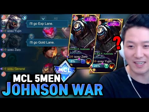 Gosu General's crazy teammates are back to MCL   Mobile Legends