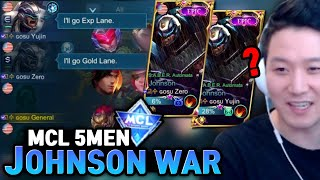 Gosu General's crazy teaṁmates are back to MCL | Mobile Legends