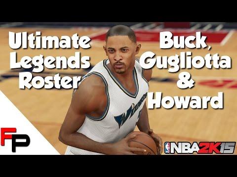 NBA 2K15 - Young Buck Williams, Tom Gugliotta & Juwan Howard - Ultimate Legends Roster #52