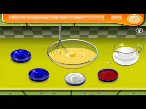 เกมส์ทําอาหาร Sara's Cooking Class Berry Ice Cream