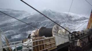 Bad weather in Flemish Cap