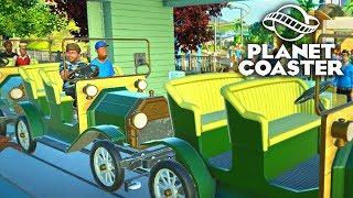 Planet Coaster - Машинки! #14