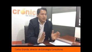 Encuesta ubica a Lenin Moreno para la Presidencia :: Diario Crónica. Loja-Ecuador.