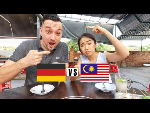 Cultural Differences Germany vs. Malaysia (Food, Dating & More) - Why Do I Eat Rice With A Fork?