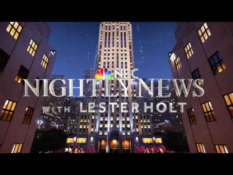 NBC Nightly News with Lester Holt - Show Open - CGI