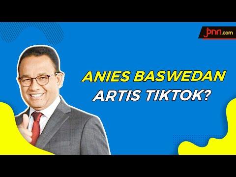Anies Baswedan Ngajak Main TikTok Saat Ditanya Soal Formula E