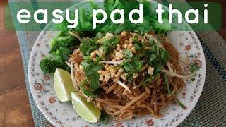 Vegan Pad Thai // Quick & Easy