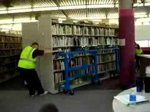 Moving Bookshelves