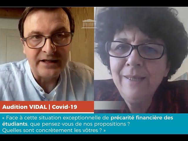 Audition de Frédérique VIDAL : quelles propositions face à la précarité des étudiants ?