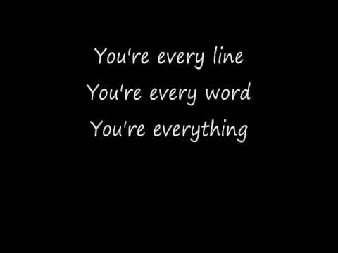 Everything with Lyrics Michael Buble