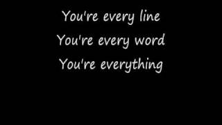 Repeat youtube video Everything with Lyrics Michael Buble