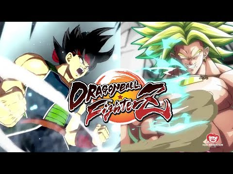 DRAGON BALL FIGHTERZ Broly And Bardock Join The Fight Teaser Trailer