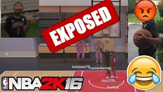 NBA 2K16 GEESICE VS DON J! WHEN TRASH TALKING GOES WRONG! EXPOSURE! FT. TroydanGaming