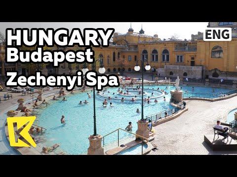 【K】Hungary Travel-Budapest[헝가리 여행-부다페스트]세체니 온천/Szechenyi spa/Mineral waters/Hot spring
