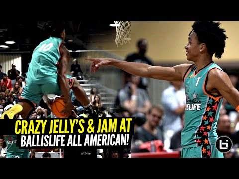 7b9cea5cfe0b Ballislife All Americans Brought the JELLY   JAM!! Tre Mann   Boogie Ellis  GO AT IT 1 v 1!!!