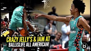 Ballislife All Americans Brought the JELLY & JAM!! Tre Mann & Boogie Ellis GO AT IT 1 v 1!!!