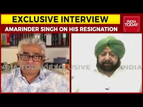 Amarinder Singh Speaks To Rajdeep Sardesai On His Resignation As CM Of Punjab | Exclusive