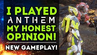 My Honest Opinion About Anthem After Playing It For A Day.  New Anthem Gameplay!