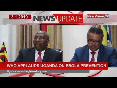 WHO applauds Uganda on Ebola prevention