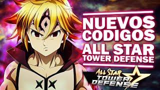 NUEVOS CODIGOS ALL STAR TOWER DEFENSE 2021 ROBLOX 🎁 CODIGOS DEFENSA DE TORRES TODO ESTRELLA MAYO !!!