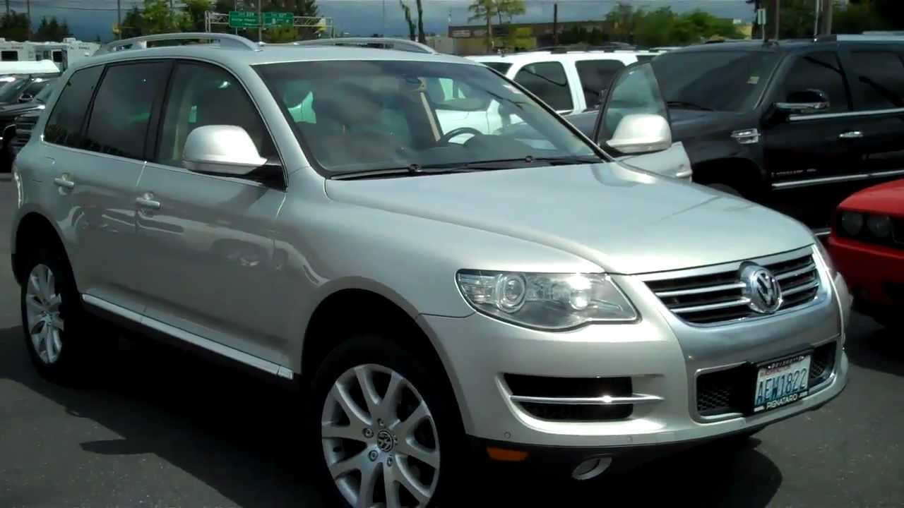 2008 volkswagen touareg 2 v8 fsi youtube. Black Bedroom Furniture Sets. Home Design Ideas