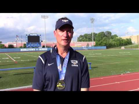 Jim Andre, Victor High School Varsity Lacrosse Coach, NYSPHSAA Finals 06/11/16