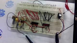 Tachometer Rpm With Led Using Ic Lm2917-8p